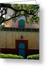 Alhambra Water Tower Doors Greeting Card