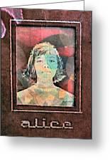Alice Kuykendall 1966 Greeting Card