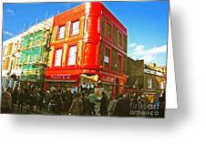 Alice's - London Greeting Card