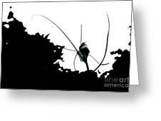 Alien Garden Greeting Card