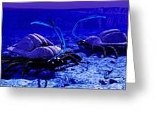 Alien Life Form, Artwork Greeting Card
