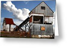 Alive And Well In America . The Old Industrial Sand Plant In Berkeley California . 7d13952 Greeting Card