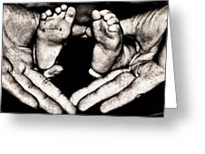 All Fingers And Toes  Greeting Card