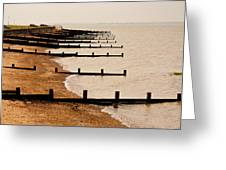 All Hallows Beach Greeting Card