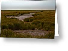 All Hallows Marshes Greeting Card
