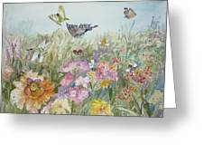 All My Friends Greeting Card by Dorothy Herron