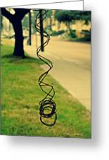 All Tangled Up In You Greeting Card