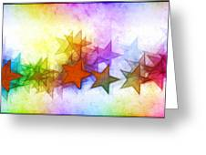 All The Stars Of The Rainbow Greeting Card