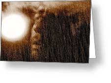 Allan Poe Greeting Card