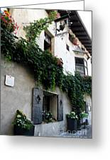 Alley In Bressanone Greeting Card