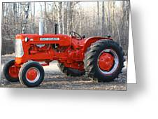 Allis Chalmers Angled Greeting Card