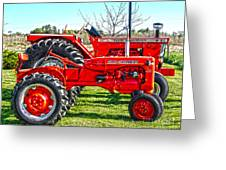 Allis-chalmers Tractors Greeting Card