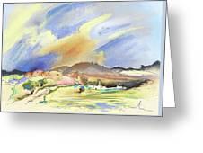 Almeria Region In Spain 01 Greeting Card