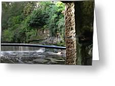 Almond River Step-door  Greeting Card