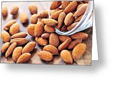 Almonds Greeting Card