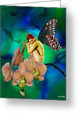 Alone I Wait Greeting Card by Diana Shively
