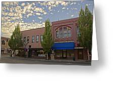 Along 6th Street In Grants Pass Greeting Card