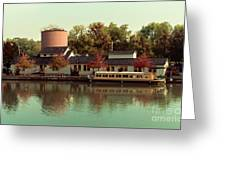Along The Erie Canal Greeting Card