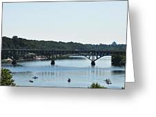 Along The Schuylkill River At Strawberry Mansion Greeting Card