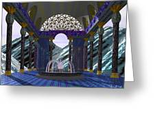 Alpen Temple Greeting Card