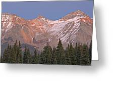 Alpenglow San Juan Mountains Greeting Card