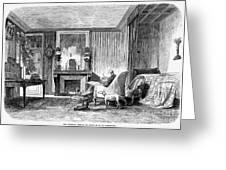 Alphonse De Lamartine Greeting Card