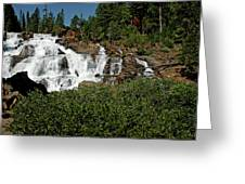 Alpine Falls Lake Tahoe II Greeting Card
