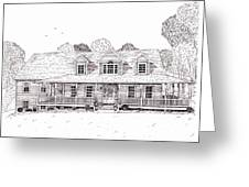 Al's House   Greeting Card by Michelle Welles
