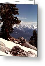 Alta Peak Greeting Card