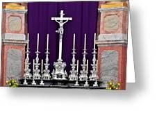 Altar Dresdener Hofkirche Greeting Card