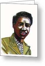 Althea Gibson Greeting Card