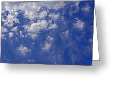 Alto Cumulus With Ice Greeting Card