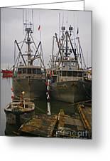 Aluminum Fishing Boats Greeting Card