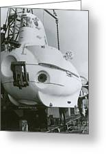 Alvin, Deep Sea Ocean Research Vessel Greeting Card