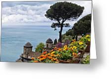 Amalfi Coast Spring Vista Greeting Card