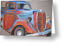 Amarillo Truck Greeting Card