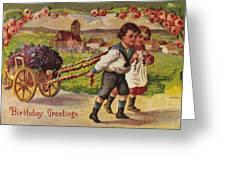 American Birthday Card Greeting Card