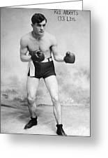 American Boxer, C1912 Greeting Card
