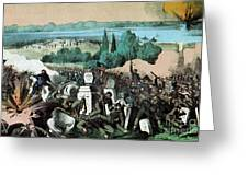 American Civil War, Battle Of Baton Greeting Card