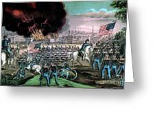 American Civil War, Capture Of Atlanta Greeting Card