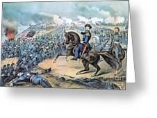 American Civil War, Storming Of Fort Greeting Card