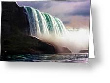 American Falls Power Greeting Card