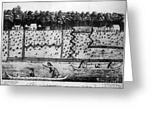 American Farm: Plan, 1793 Greeting Card