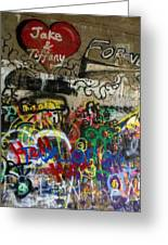 American Graffiti 17- Jake From State Farm Greeting Card