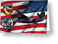 American Hero 2 Greeting Card