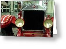 American Lafrance Fire Truck Greeting Card