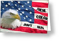 American Pride Greeting Card by Joanne Kocwin