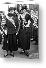 American Suffragists Greeting Card