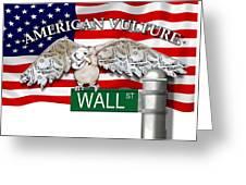 American Vulture Greeting Card