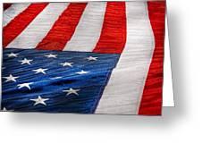 Americana - Flag - Stars And Stripes  Greeting Card
